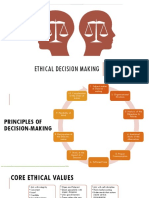 ETHICAL DECISION MAKING 1.0