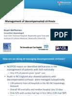 Dr Stuart McPherson - Management of Decompensated Cirrhosis