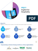 Enguru - English for Hospitality
