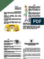 folleto canales de aprendizaje
