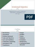Unintentional Injuries