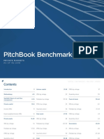 PitchBook Benchmarks as of 4Q 2018
