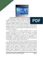 Características de La Filosofía Contemporánea.