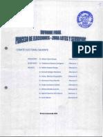 Informe Final Comite Electoral 2015
