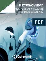 Osinergmin Electromovilidad Conceptos Politicas Lecciones Aprendidas Para El Peru (1)