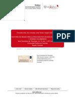 [Art.] Factores de riesgo para la infección por VIHSIDA en adolescentes y jóvenes Colombianos