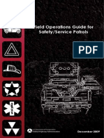 Field Operations Guide for Safety or Service Patrols