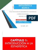 1.1. Introducción a La Estadística 23-10-2019