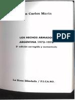 Juan Marin - Los Hechos Armados - Seleccion
