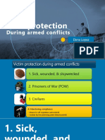 Victim protection during armed conflicts