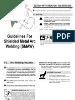 SMAW welding turorial