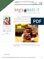 MegsMadeIt_ Chocolate Ice Cream Bubble Bath Truffle DIY Video Tutorial