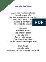 Para Não Ser Triste.docx