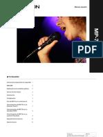 Manual de microfono tc helicom