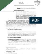 Escrito y Solicitud Ds. 046-2017