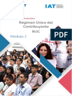 REGIMEN UNICO DE CONTRIBUYENTE RUC