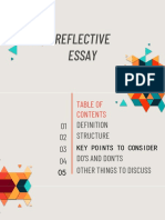 Reflective Essay.1