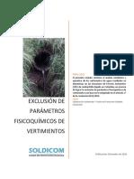Estudio de Exclusión de Parámetros VF