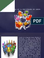 2)HISTORIA D LA PSICOTERAPIA DE GRUPO
