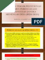 Pelatihan TIM RPJMDes.pptx