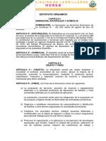 Estatuto y Reglamento Interno