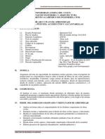 Puentes, Acueductos y Alcantarillas, 2019-II (grupo 10A)