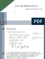 Asesoría de Matemática I-3-3