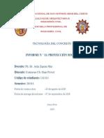 informe proyección social