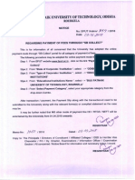 Regarding Payment of Fees Through - SB Collect and Forms