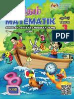 Matematik Tahun 3 Jilid 1 SJKT Teks KSSR Semakan