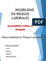 Responsabilidad en riesgos laborales Alexander Coral -  Abogado