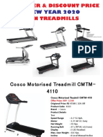 Get New Year Offer On Treadmill And Gym Equipments