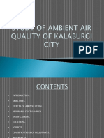 Study of Ambient Air Quality