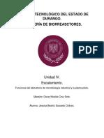 Biorreactores Unidad 4