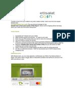 E-Payment (Telecom Operatoers)