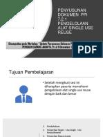PENYUSUNAN DOKUMEN  PPI 7.2.1 (MINARNI)