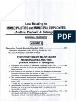 Law Relating to Municipal Employees