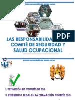 1. Las Responsabilidades Del Comite de Seguridad y Salud Ocupacional