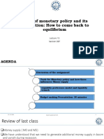 Lecture 15_  Tools of Monetary Policy, Liquidity crisis and fixing the equilibrium.pptx
