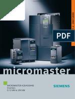 siemens micromaster catalog