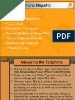 Telephone Etiquette PPT