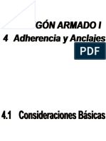 4 Adherencia y Anclaje