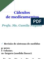 Cálculos de medicamentos - Enfermagem