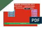 Rapor k 2013 Sem 1 Primary 1