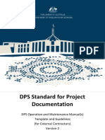 DPS Standard for Project Documentation