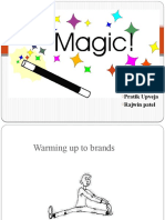 magic of branding/advertising