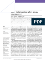factor contribute to allergy