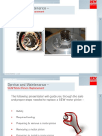 Pinion Replacement