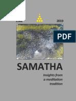 Samatha Journal 2019