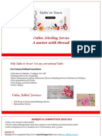 Tailor in Town PPT